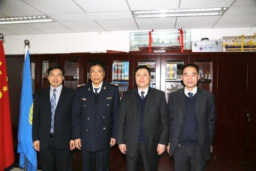 江苏海事职业技术学院一行赴京拜访国家海事局