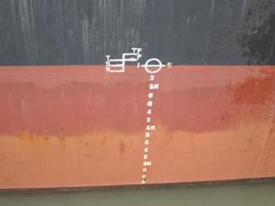 载重线标记-PROK 波尔克 杂货船技术状况评估报告图片