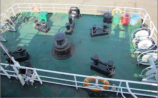 船舶锚机平面图